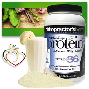 <strong>Pure Whey Protein Body Lean 36!</strong><br><i>French Vanilla Flavor!<br>Monthly Auto-Ship Advantage</i>