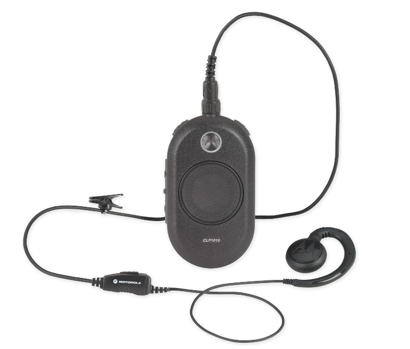 motorola walkie talkie headset. motorola clp1010 two way radio walkie talkie headset