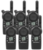 Motorola CLS1110 Hand Held Two Way Radio 6 pack