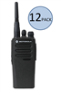 Motorola CP200d Two Way Radio Walkie Talkie 12 Pack Bundle