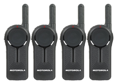 Motorola DLR1060 4 Pack Radio Bundle