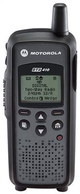 Motorola DTR410 Two Way Radio Walkie Talkie