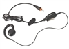 Motorola HKLN4455A CLP Swivel Earpiece with Inline PTT