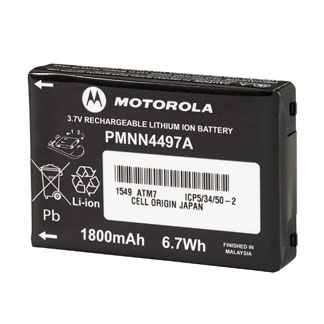 PMNN4497 CLS Series Lithium Ion Rechargeable Battery