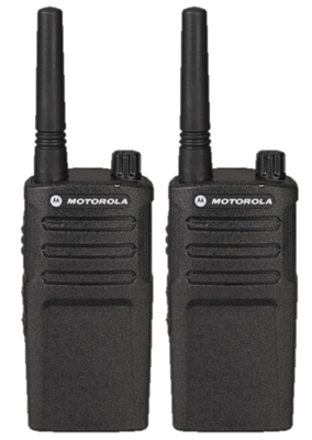 Motorola RMM2050 2 Pack Two Way Radio Bundle