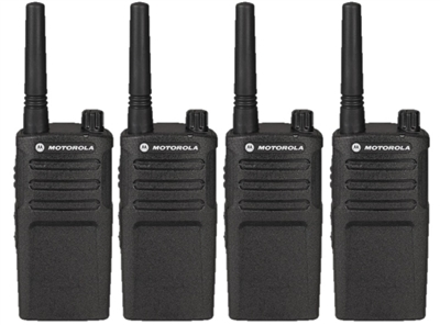 Motorola 4 Pack UHF Two Way Radio Bundle