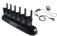 Restaurant Two Way Radio Combo Pack