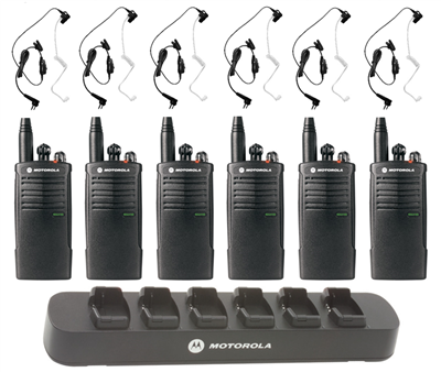 Security Two Way Radio Combo Pack