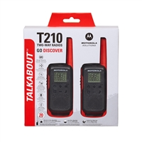 Motorola T210 Talkabout Walkie Talkie