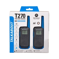 Motorola T270 Talkabout Walkie Talkie
