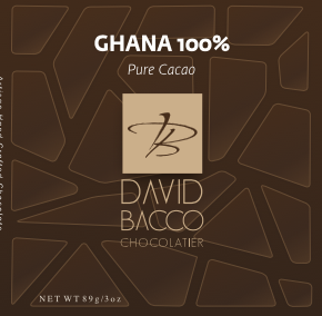 Single Origin Chocolate Bar GHANA 100%