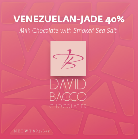 40% JADE - FLEUR DE SEL - WITH SMOKED SEA SALT