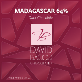 64% MADAGASCAR - DARK CHOCOLATE