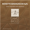64% NOISETTE MADAGASCAR - DARK CHOCOLATE W/HAZELNUTS