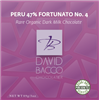 47% PERU - FORTUNATO NO 4 - DARK MILK RARE ORGANIC CHOCOLATE