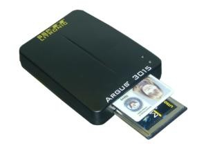 Argus 3015e External USB CAC Smart Card Reader with FORTEZZA Support