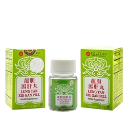 Lung Tan Xie Gan Pill | Long Dan Xie Gan Wan for Liver Health