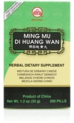 Ming Mu Di Huang Wan supports the health of the organ systems that nourish eye sight