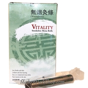 Vitality Smokeless Moxa Rolls for Moxibustion Heat Therapy