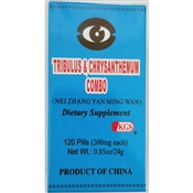 Nei Zhang Yan Ming Wan | Tribulus and Chrysanthemum Combo supports the health of the organ systems that nourish eye sight