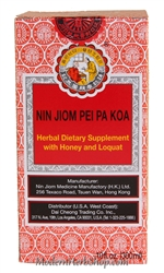 Chinese Herbal Syrup Nin Jiom Pei Pa Koa