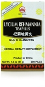 Qi Ju Di Huang Wan | Lycium Rehmannia Teapills supports the health of the organ systems that nourish eye sight