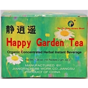 Happy Garden Tea to Reduce Stress, Ease the Mind & Relieve PMS
