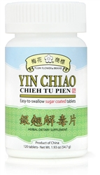 Yin Chiao | Chieh Tu Pien supports the immune system during times of stress from colds and flu.