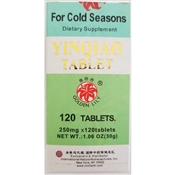 Yinqiao Tablets for cold seasons supports the immune system during times of stress from colds and flu.