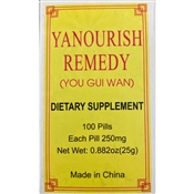 Yuo Gui Wan Yanourish Remedy Supports Kidney Qi and Yang
