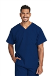 "Barco Grey's Anatomyâ""¢ ACTIVE - Men's 2 Pocket Panel Pieced V-neck Scrub Top. 0116"