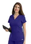 GREY'S ANATOMY PROFESSIONAL WEAR™ - Women's 3 Pocket Marquis Style V-neck Scrub Top. 41452