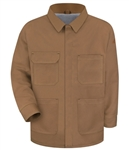Bulwark - Flame-Resistant Brown Duck Lineman's Coat. JLC4