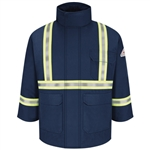 Bulwark - Deluxe Parka with CSA Compliant Reflective Striping. JLPC