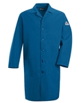 Bulwark - Flame-Resistant Royal Blue Lab Coat. KNL2