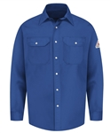Bulwark - Flame-Resistant Snap-Front Deluxe Uniform Shirt. SES2
