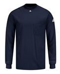 Bulwark - Flame-Resistant Long Sleeve Tagless T-Shirt. SET2