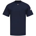 Bulwark - Flame-Resistant Short-Sleeve Tagless T-Shirt. SET8