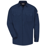 Bulwark - Flame-Resistant Button-Front Work Shirt. SLW2