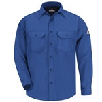 Bulwark - Flame-Resistant Button-Front Deluxe Shirt. SND6