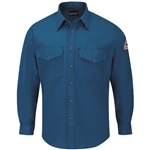 Bulwark - Flame-Resistant 6 oz. Snap-Front Uniform Shirt. SNS6