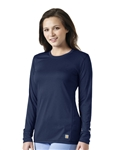 Carhartt Scrubs - Women's Long-Sleeve Force Sub-Scrub Tee. C33109