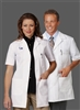 "Fashion Seal - 34"" Unisex Short Sleeve Lab Coat. 3409"