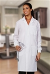 "Fashion Seal - Unisex 41"" Button Front Lab Coats. 3420"