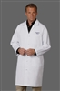 "Fashion Seal 437 - 41"" Unisex Knot Button Lab Coat"