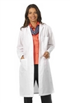 "Fashion Seal - Ladies' 41"" Full Length Lab Coat. 438"