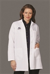"Fashion Seal - Ladies' 34.5"" Skimmer Length Lab Coat. 440"