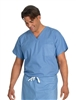 Fashion Seal - Unisex Ceil FB Rev Set-In Sleeve Scrub Shirt. 6796