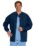 Fashion Seal - Unisex Navy FP Warm-up Jacket/No Pkt. 7639