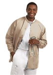 Fashion Seal - Unisex Tan FP Warm-up Jacket. 7692